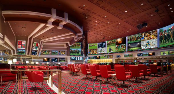 Sports Book at the Wynn
