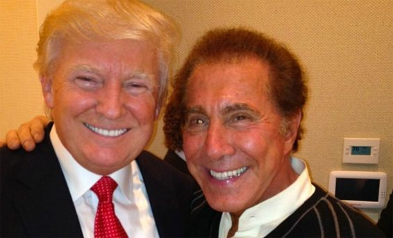 Trump with Steve Wynn