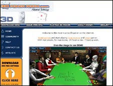 3D Poker Room Review