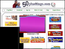 50 Plus Bingo Review