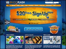 Bingo Flash Review