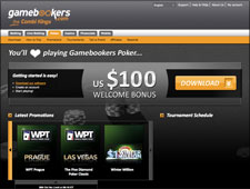 Gamebookers Poker Review