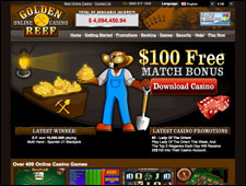 Golden Reef Casino Review