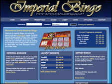 Imperial Bingo Review
