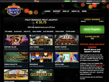 Jackpot Palace Review