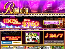 Royal City Casino Review